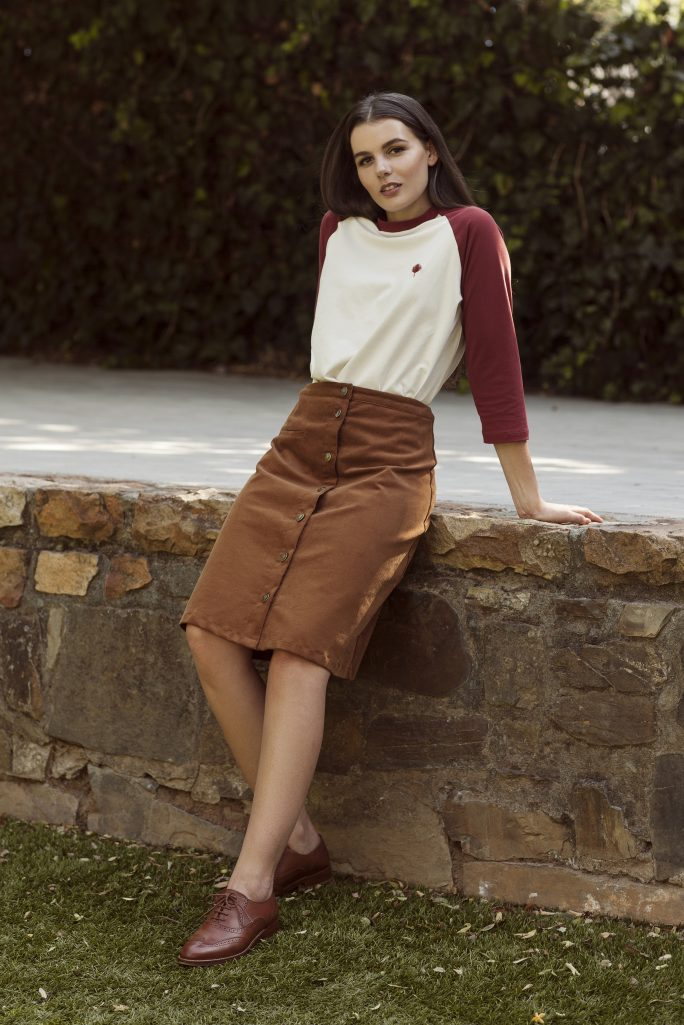 Baseball Tee & Blair Skirt 2