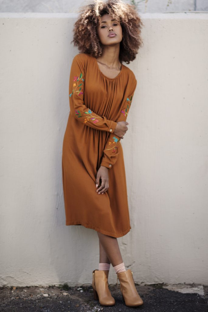 Leila Midi - Burnt Orange (K)2 (1)