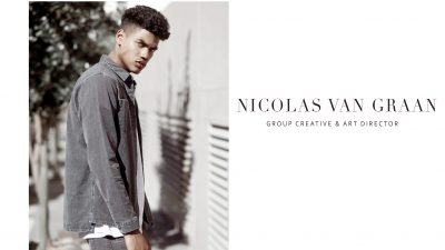 GROUP CREATIVE & ART DIRECTOR- NICOLAS VAN GRAAN